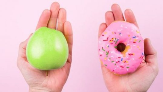 Appel en donut